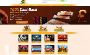 All Cashback Casino - 3 offers