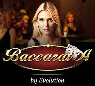 Live Baccarat by Evolution  logo