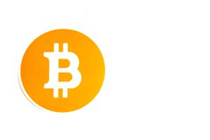 Bitcoin logo 300x200 pixels