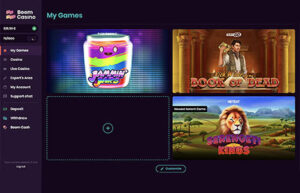 Boom Casino - My Own Game Panel