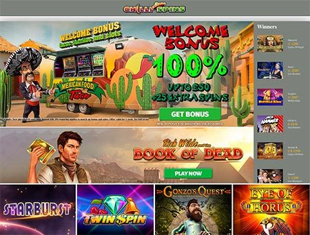 Chilli Spins: A new casino site with Mexico feeling