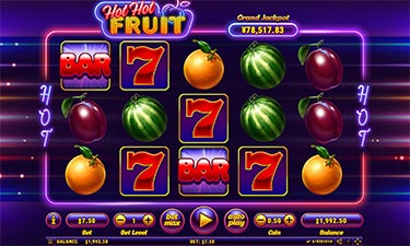 Hot Fruit Slot from Habanero