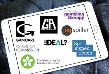 Logos for Gambling Help Organisations