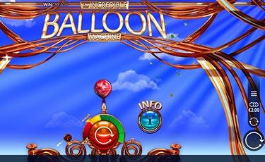 microgaming's slot the incredible balloon machine