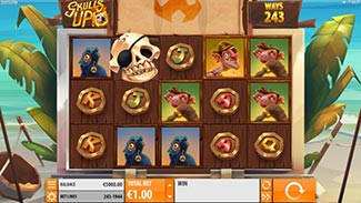 Skulls Up - New Quickspin Slot