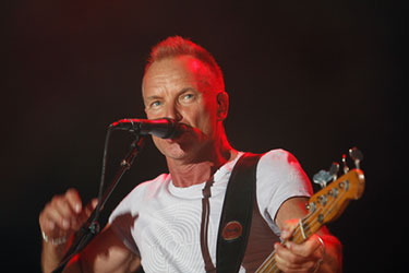 Sting Singing Shape of My Heart