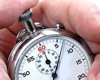 Stopwatch 6 seconds