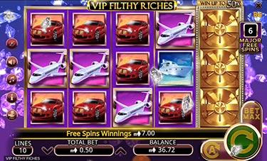 VIP Filthy Riches Slot